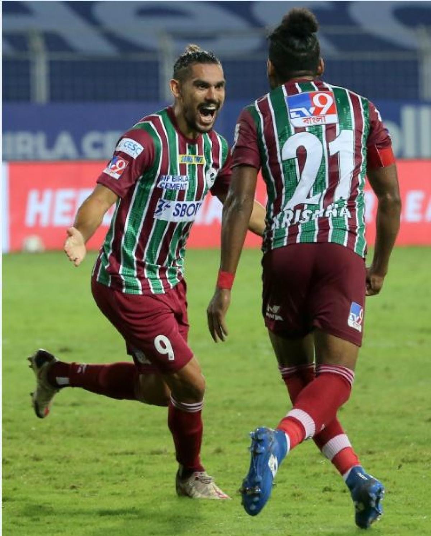 ISL Match Report: ATK Mohun Bagan break Chennaiyin hearts