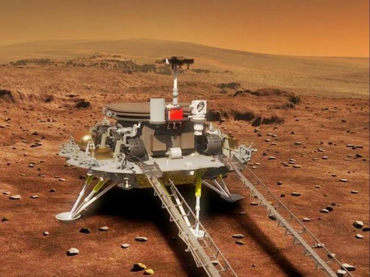 China's Tianwen-1 may enter Mars' orbit next month