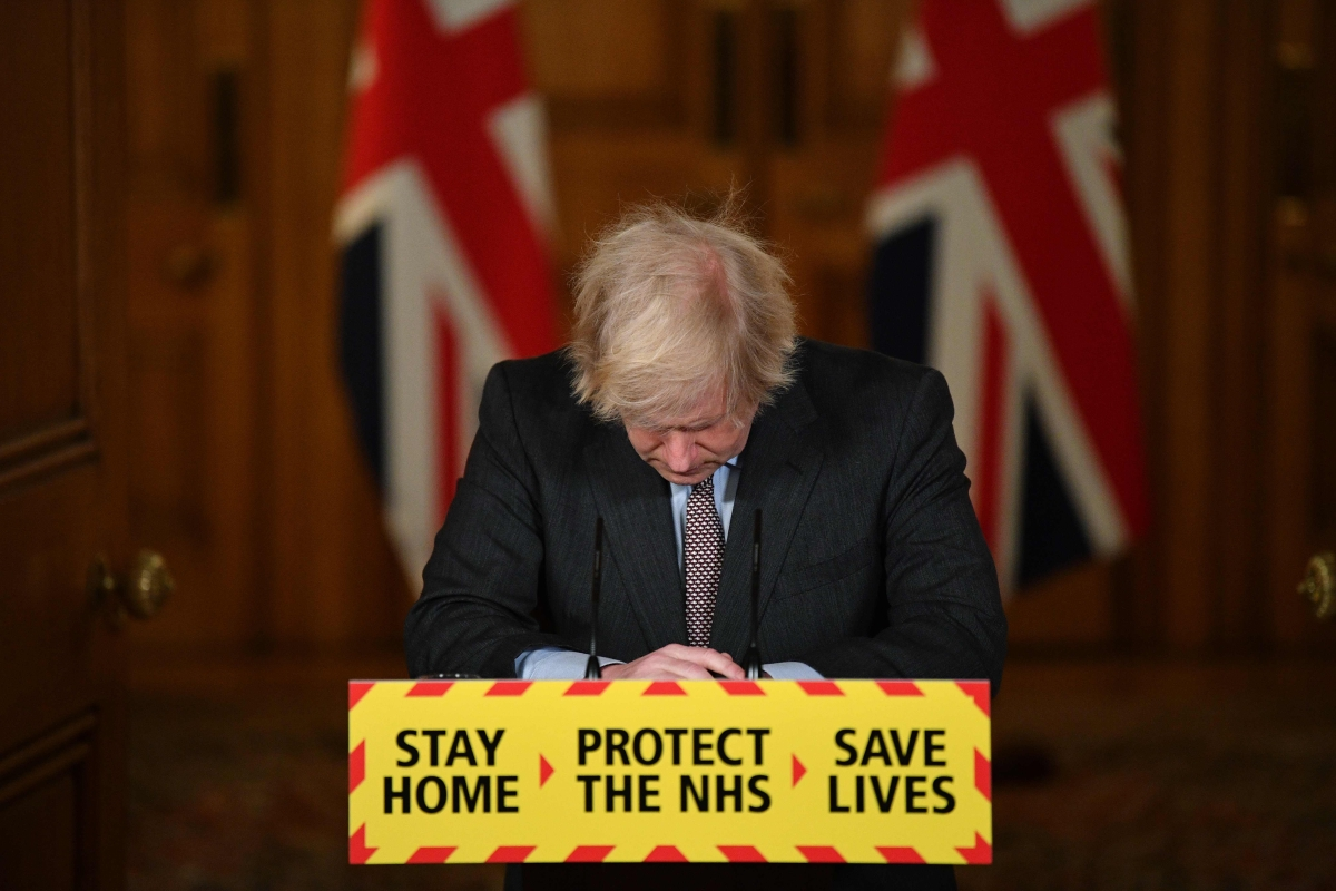 UK PM Boris Johnson says sorry for all lives lost due to COVID-19