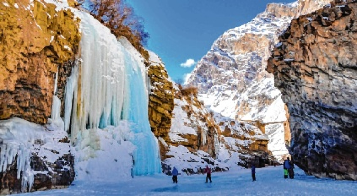 'Chadar trek' a fun-filled, chilly vacation