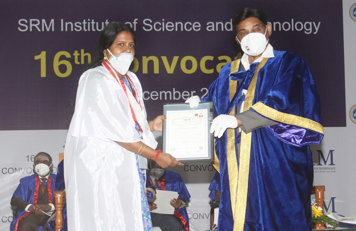ISRO Chairman urges students to innovate at SRM's 16th Annual Convocation