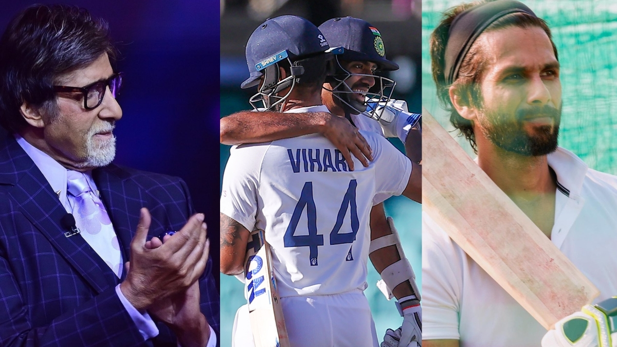 From Amitabh Bachchan to Shahid Kapoor, celebs react as India pulls off a memorable draw against Australia