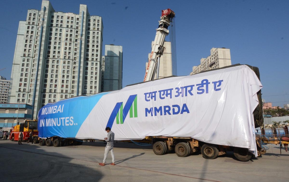 CM Uddhav Thackeray unveils first 'Made-in-India Metro rake at Charkop depot