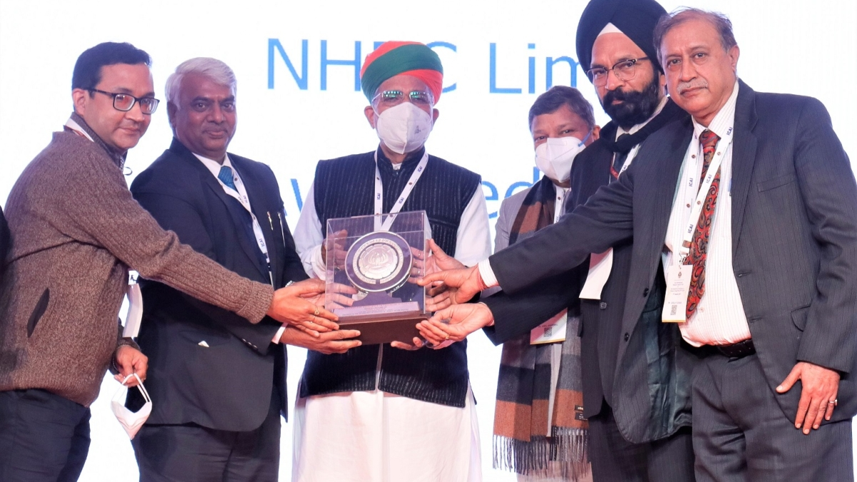 NHPC bags ICAI award for Excellence in Financial Reporting