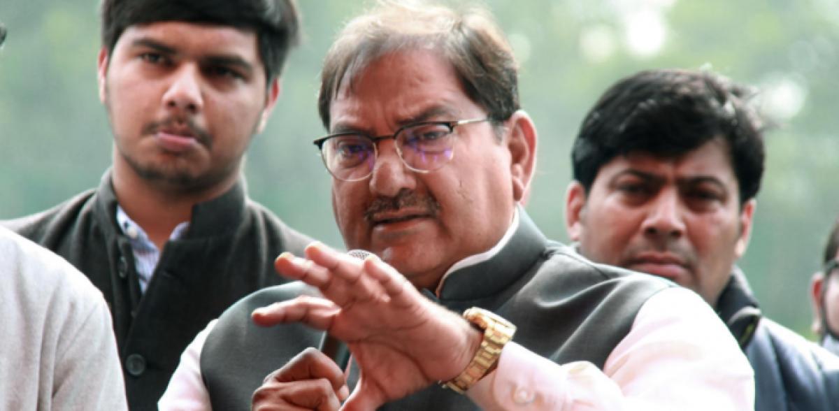 Indian National Lok Dal (INLD) legislator Abhay Chautala