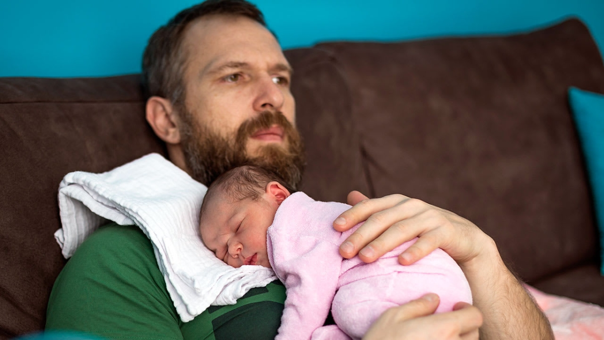 Relationship insecurities may up postnatal depression in men