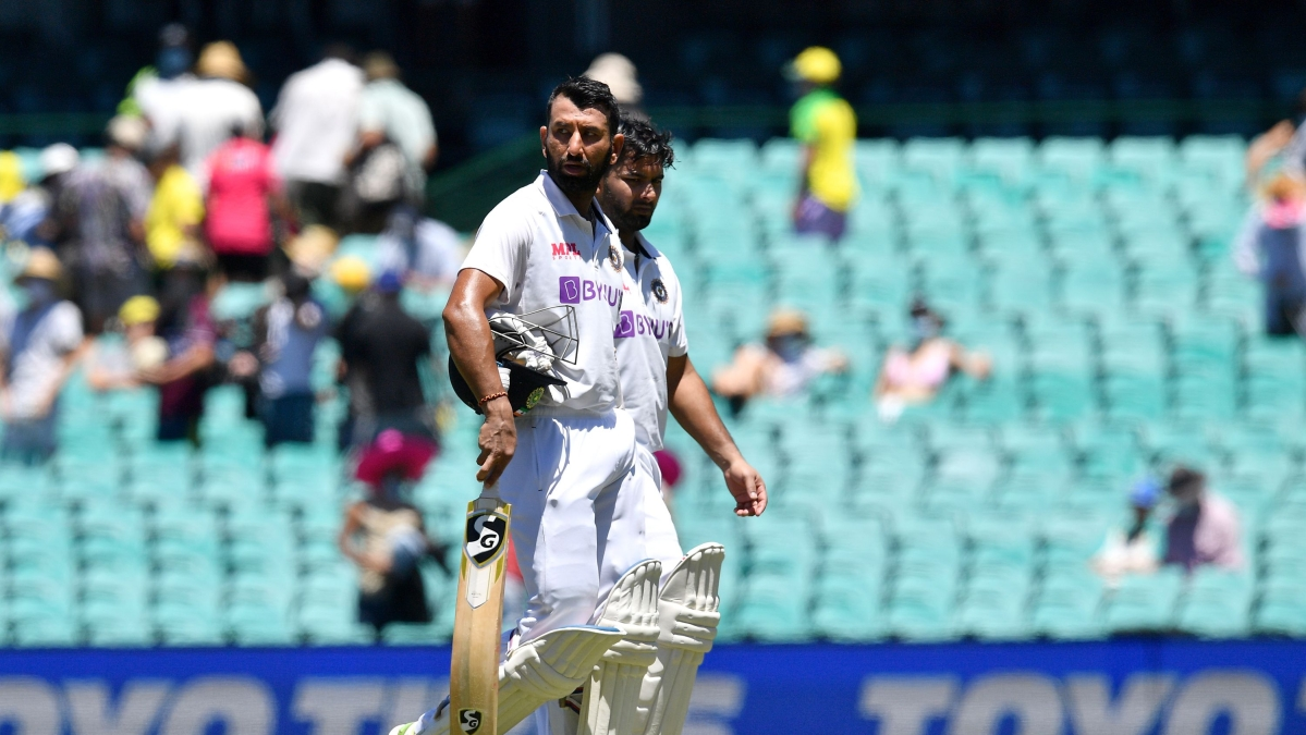 Ind vs Aus, 3rd Test: Aggressive Pant, cautious Pujara take India to 206/3 at lunch but Australia still hold edge