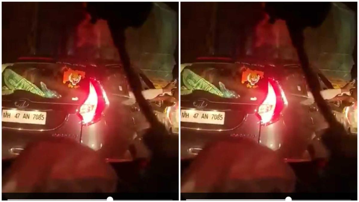 Two held after AIMIM's Imtiaz Jaleel shares video of men waving gun on Mumbai-Pune Expressway
