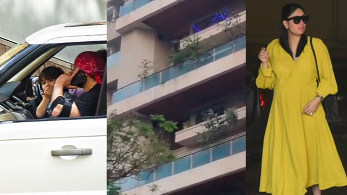 Watch: Amid FIR against 'Tandav', police protection at Saif Ali Khan's home in Mumbai