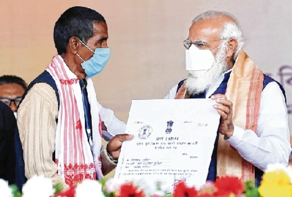 Indigenous Assamese get land rights