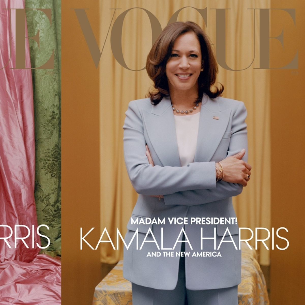 'This is just plain disrespectful': Vogue magazine called out for 'messing up' US VP Kamala Harris' cover