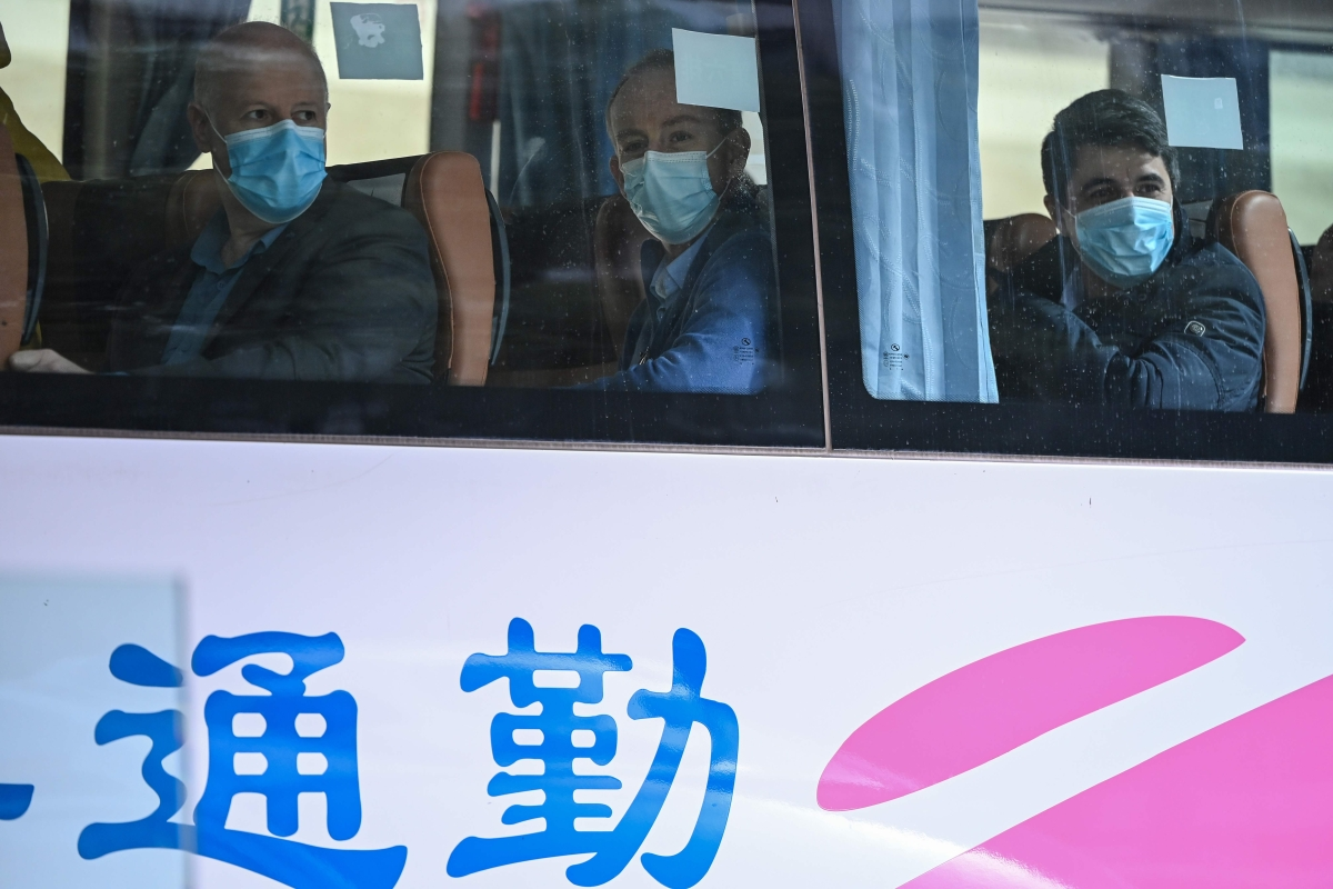 China warns against presumptions over COVID-19 origin as WHO experts begin probe in Wuhan