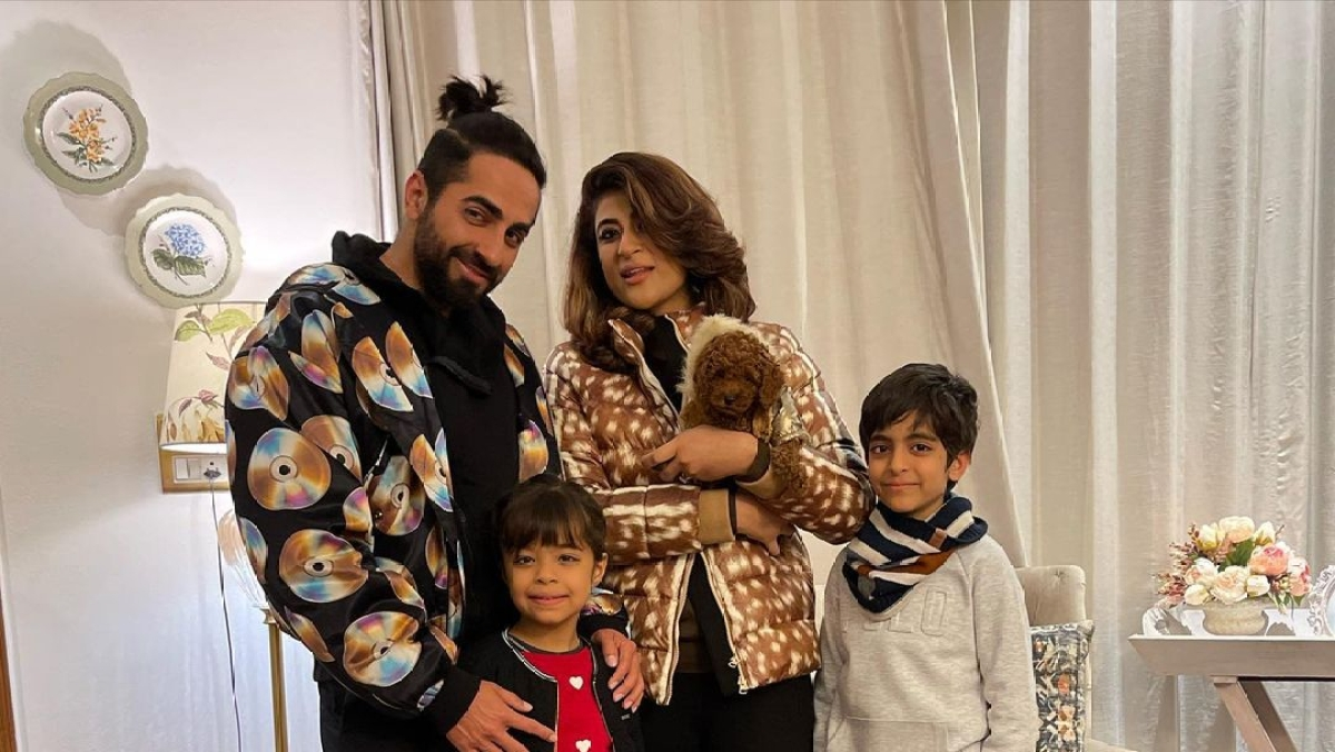 'I see my reflection in you': Ayushmann Khurrana pens down a sweet birthday note for son Virajveer