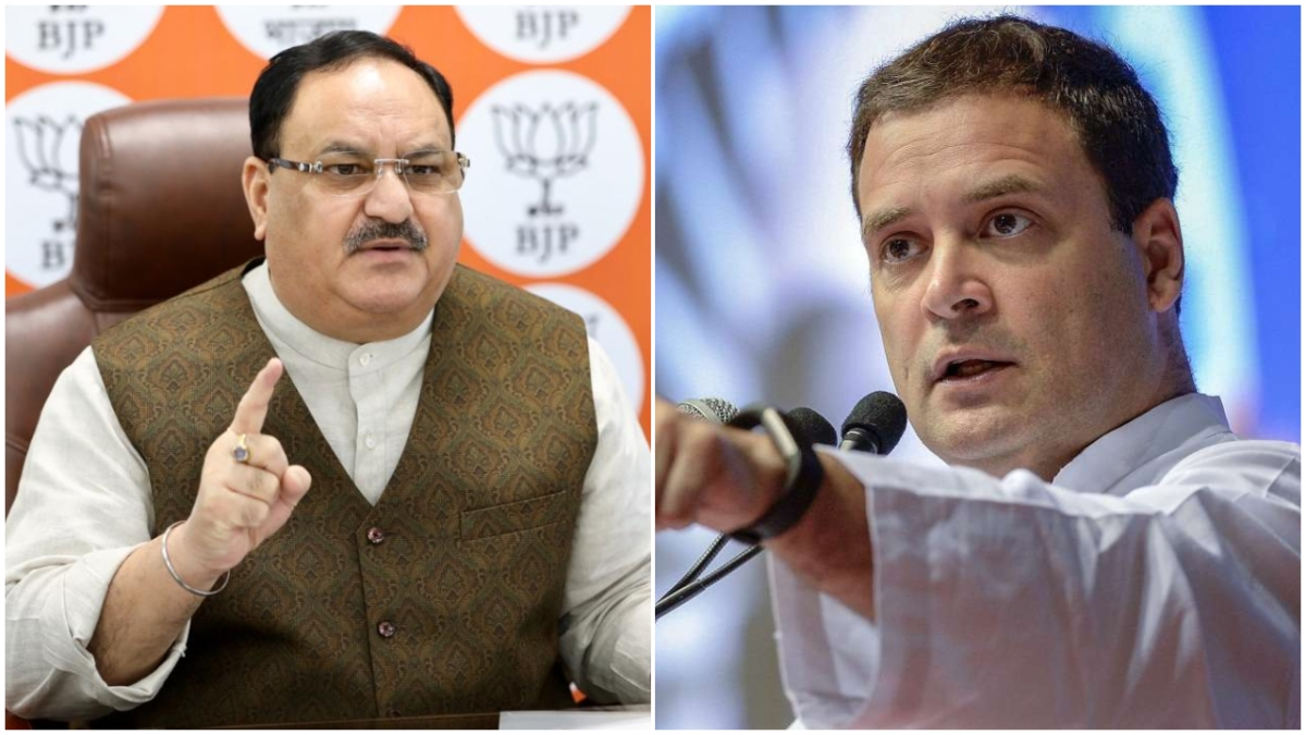 JP Nadda, Rahul Gandhi in Tamil Nadu today as political activities gather steam ahead of assembly polls