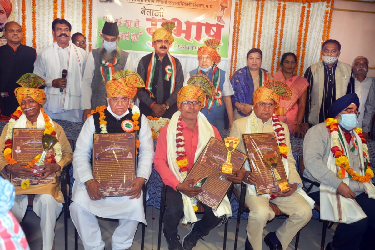 Netaji's valour gave new direction to freedom struggle, says Indore MP Shankar Lalwani