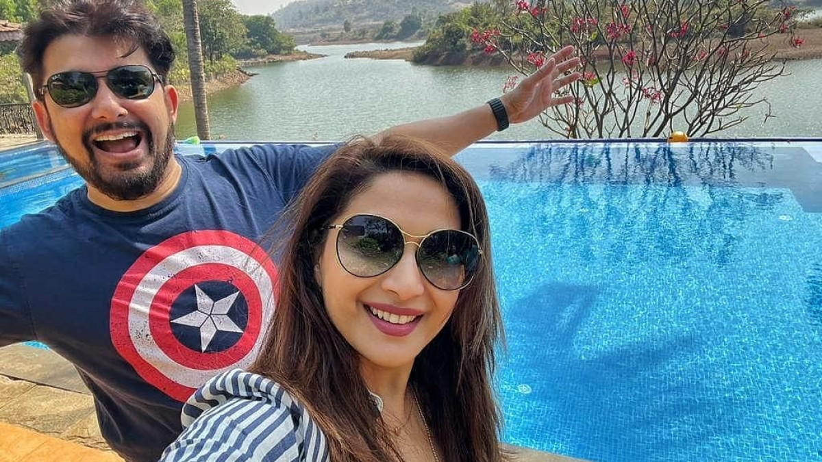 'Thanks for being an amazing husband, a friend': Madhuri Dixit wishes Shriram Nene on his birthday with heartfelt post