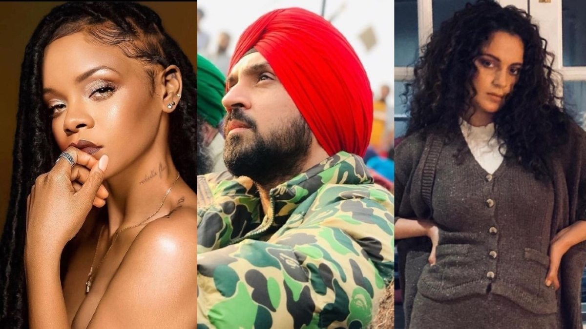 Diljit Vs Kangana 2.0, but this time with latest track lauding Rihanna for farmers' protest tweet