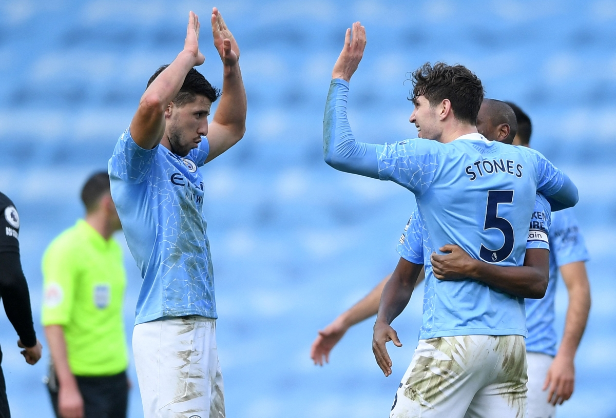 City on high; Wins 20th straight game to lead English Premier League by 13 points