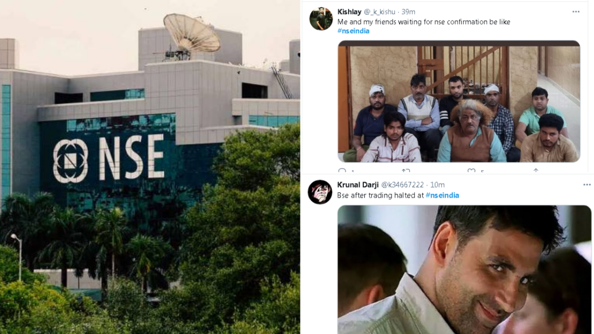 'When employees are busy looking at Mouni Roy': Twitter abuzz with memes and jokes as NSE India faces glitch