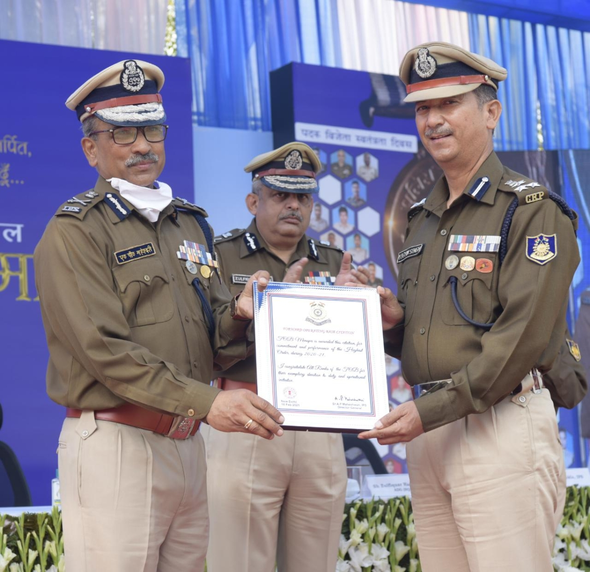 CRPF honours its Bravehearts