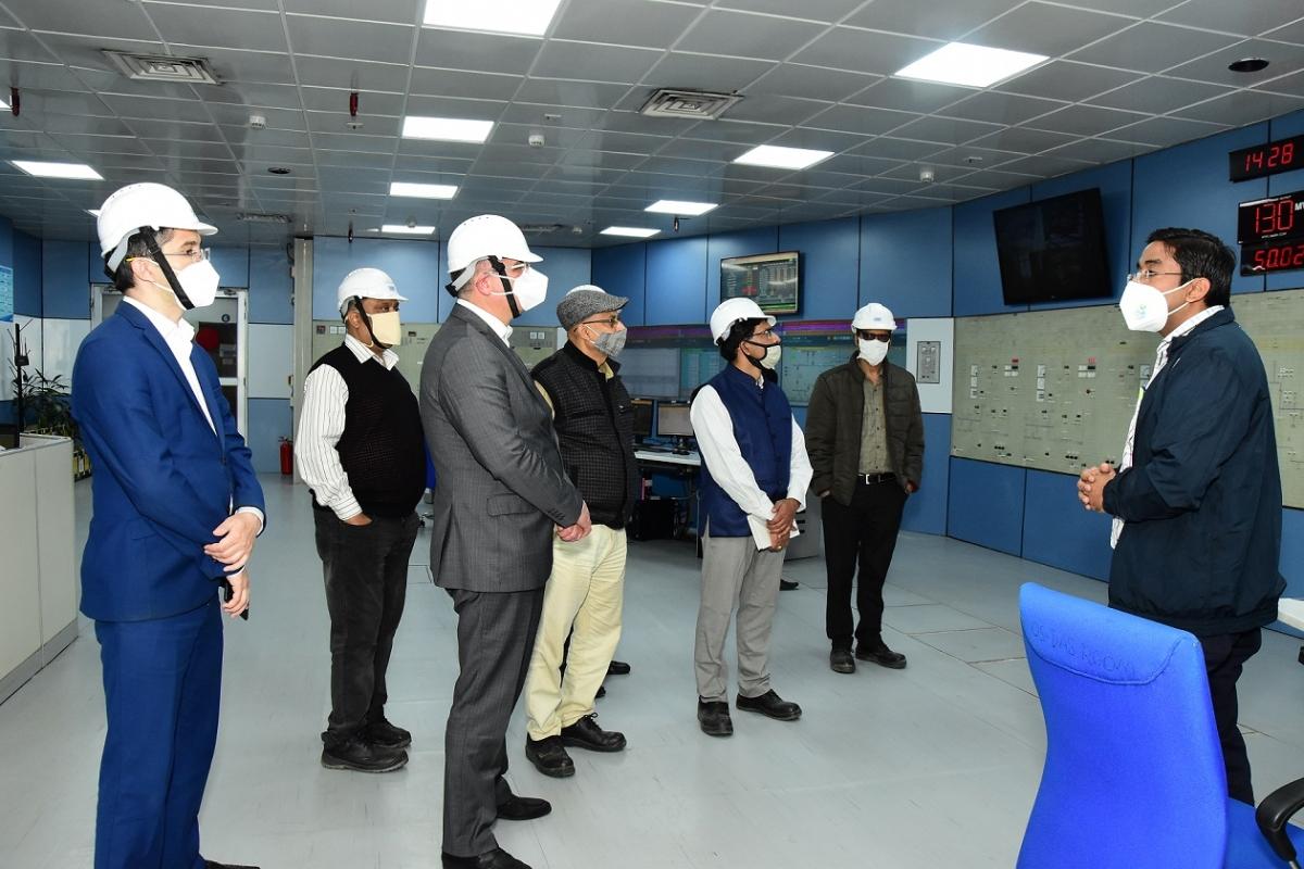Ambassador of Uzbekistan in India visits NTPC Dadri