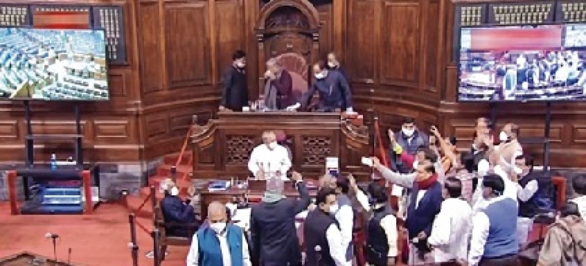 Farmers' issue rocks Upper House