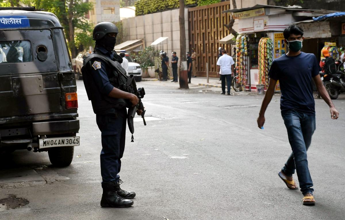 Mumbai: Suspended police officer Sunil Mane sent to judicial custody