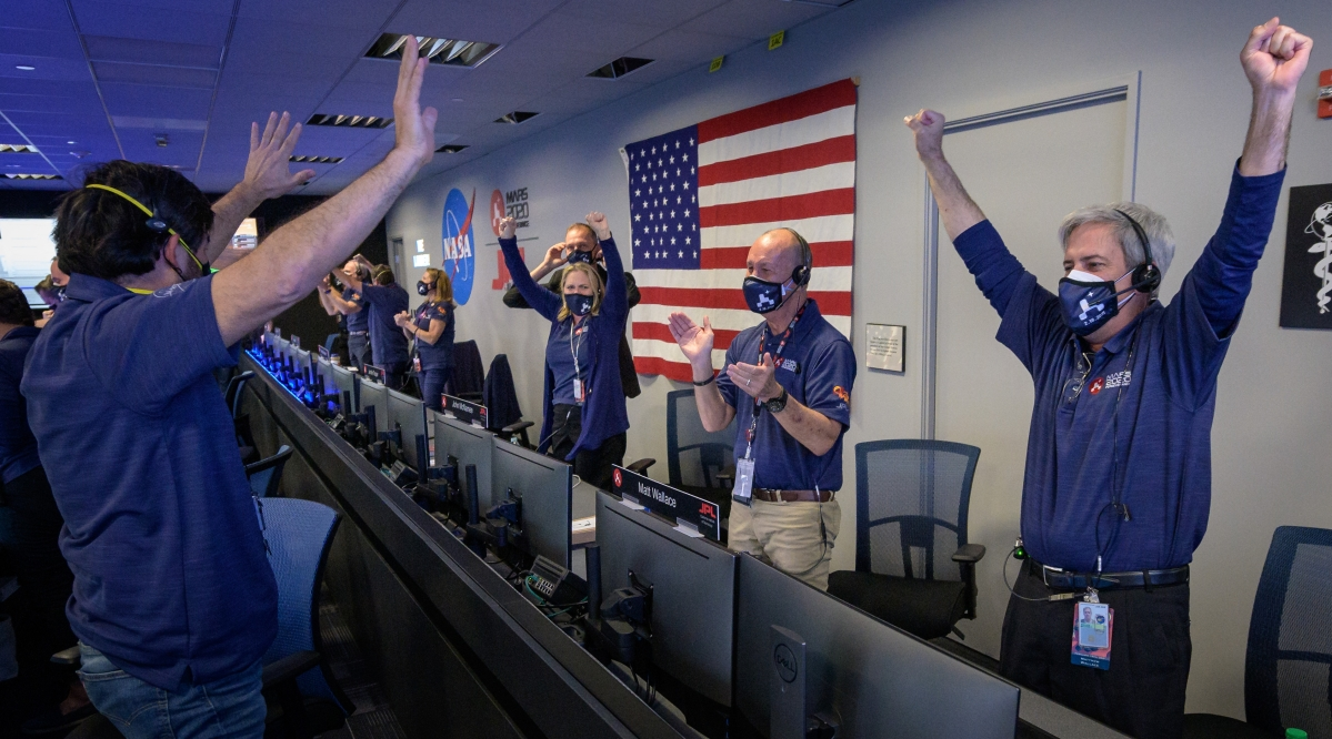 'I'm safe on Mars': NASA's Perseverance rover makes 'picture-perfect' landing; President Biden and others cheer