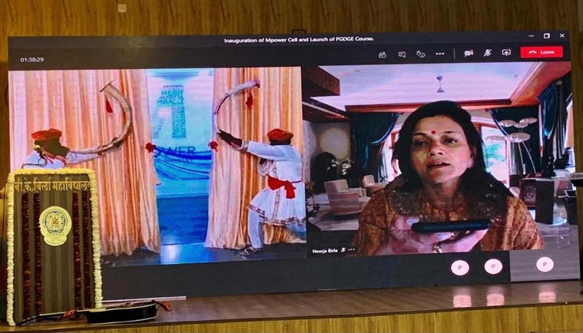 Neerja Birla inaugurates Mpower Cell at B. K. Birla College, Kalyan to make mental healthcare more accessible