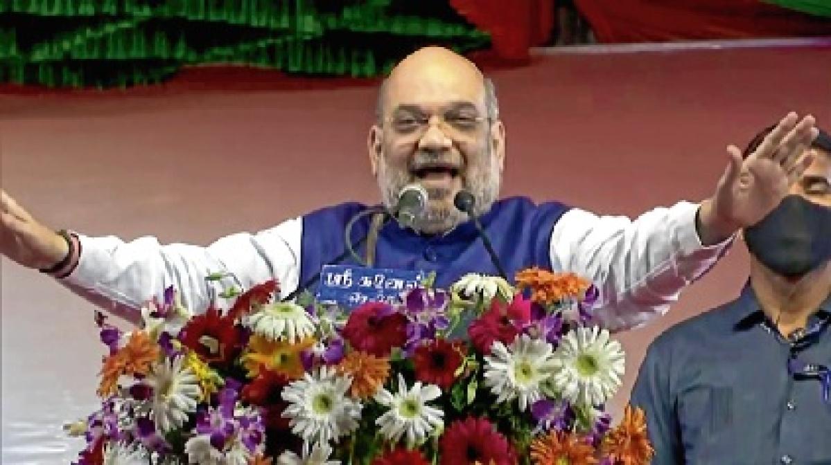 Congress disintegrating due to dynastic leadership: Amit Shah