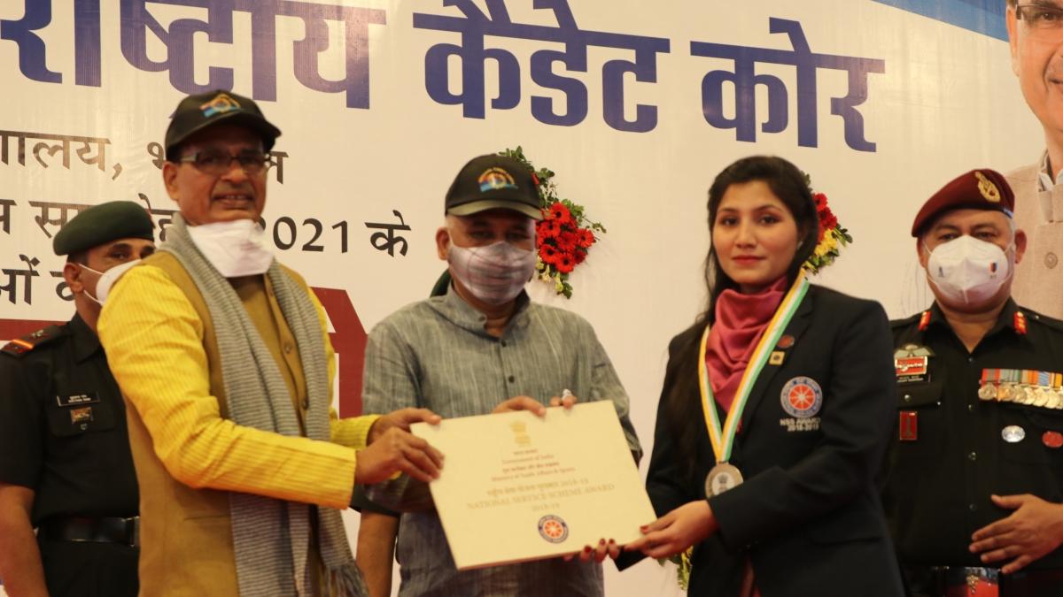 Ujjain: CM fetes Anju, Mehran