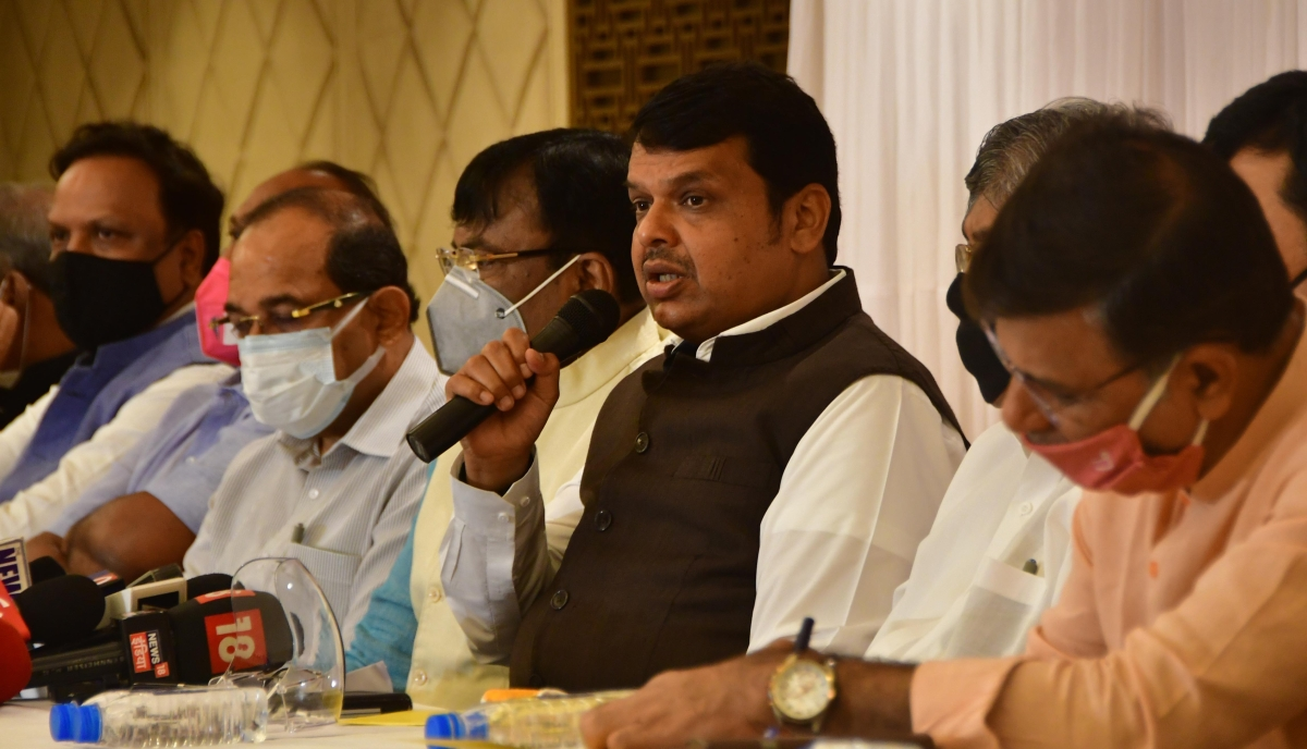 Budget session: Maha Vikas Aghadi wants to run away from debate, says Leader of Opposition Devendra Fadnavis