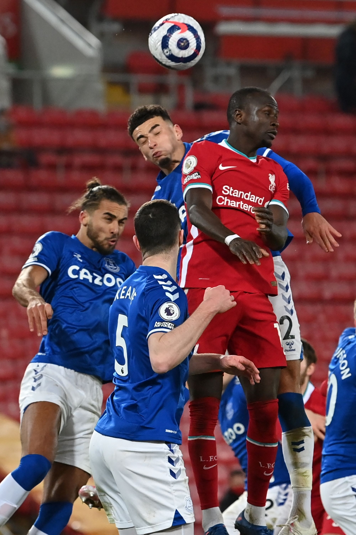 English Premier League: Everton win Merseyside derby; Beat Liverpool in their own backyard