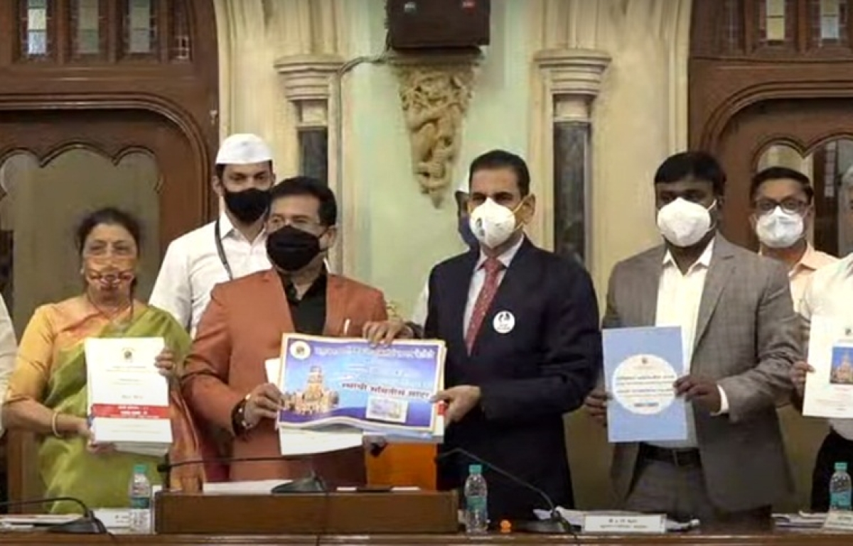 BMC Budget 2021: Civic chief Iqbal Singh Chahal presents budget of Rs 39,038.83 cr for FY 2021-22; here are the highlights