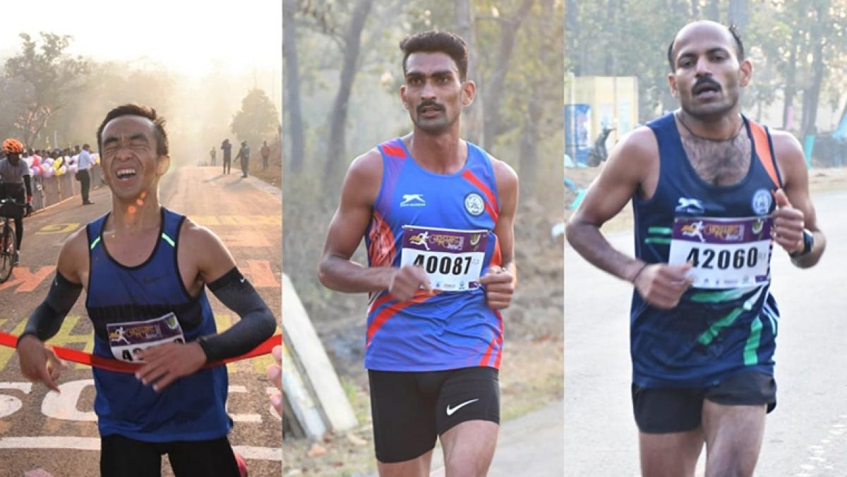 Chhattisgarh: 3rd peace marathon held in Naxal headquarters Abhujmad