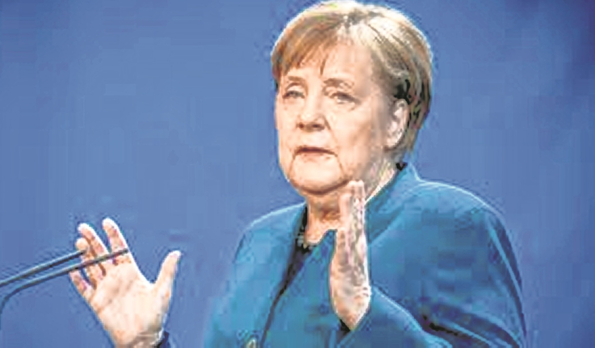 US, Europe need to develop joint strategy on China, Russia:German Chancellor