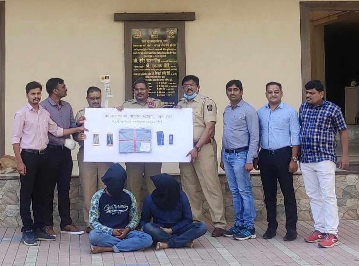 Thane: Crooks held for giving dud cheque for used laptop on OLX