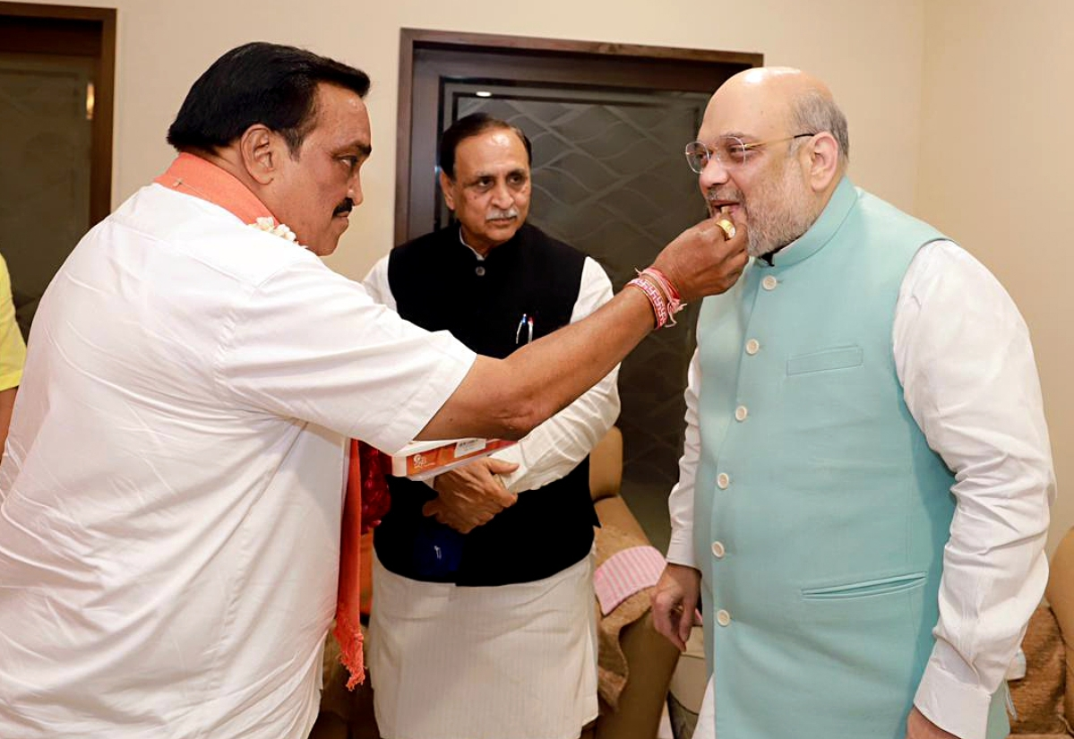 BJP sweeps Gujarat civic polls