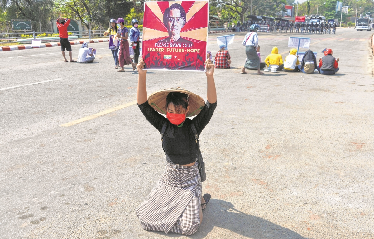 Myanmar's Suu Kyi faces new charge as crackdown intensifies