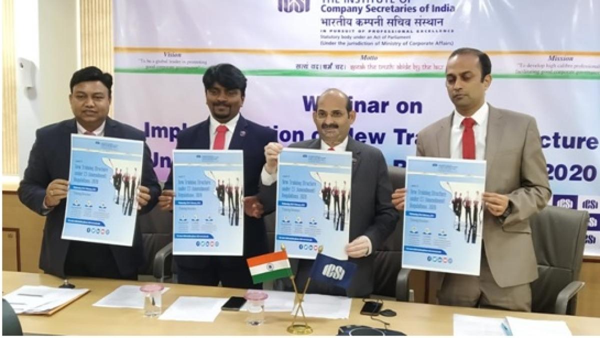 ICSI implements new training structure under CS (Amendment) Regulations, 2020