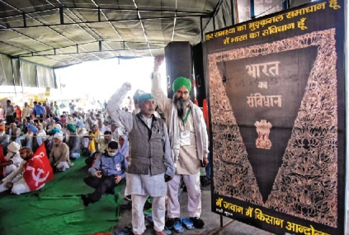 Agitating farmers worried as numbers fall at protest sites