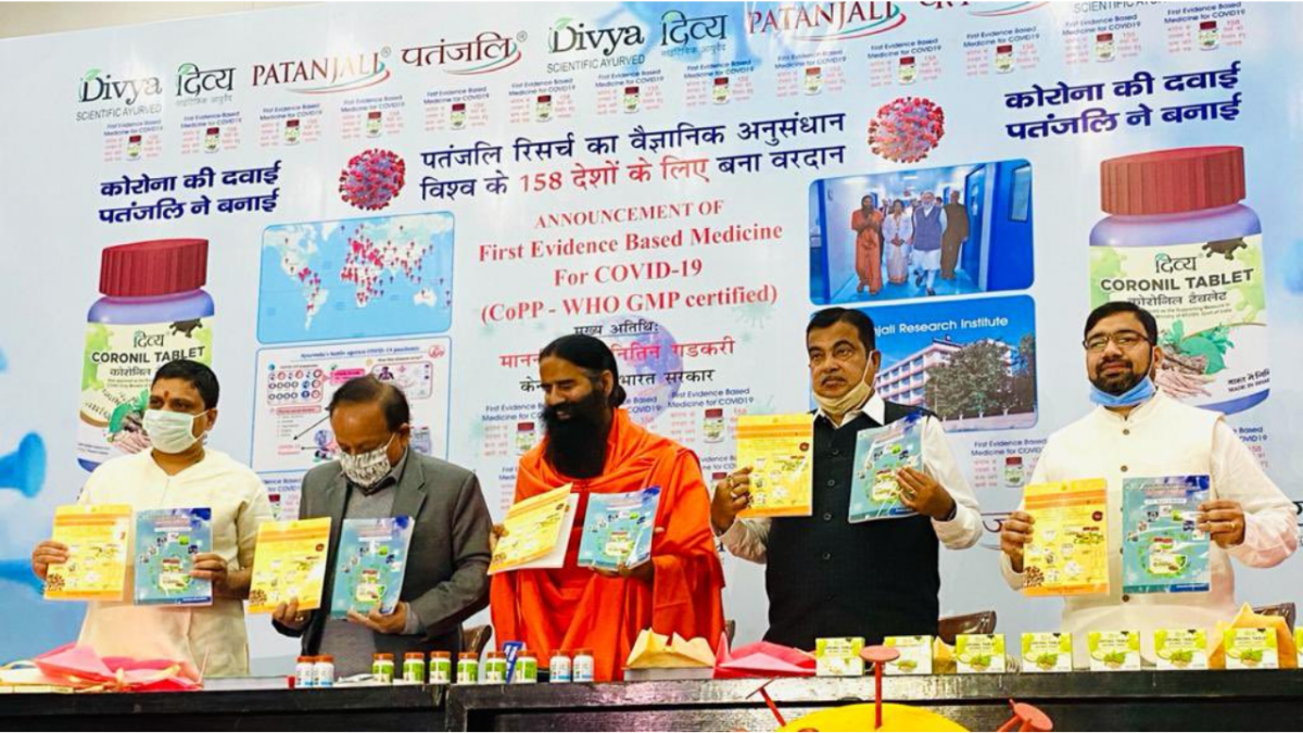 Fact Check: Patanjali's 'Coronil' has not received approval from WHO -- here's proof
