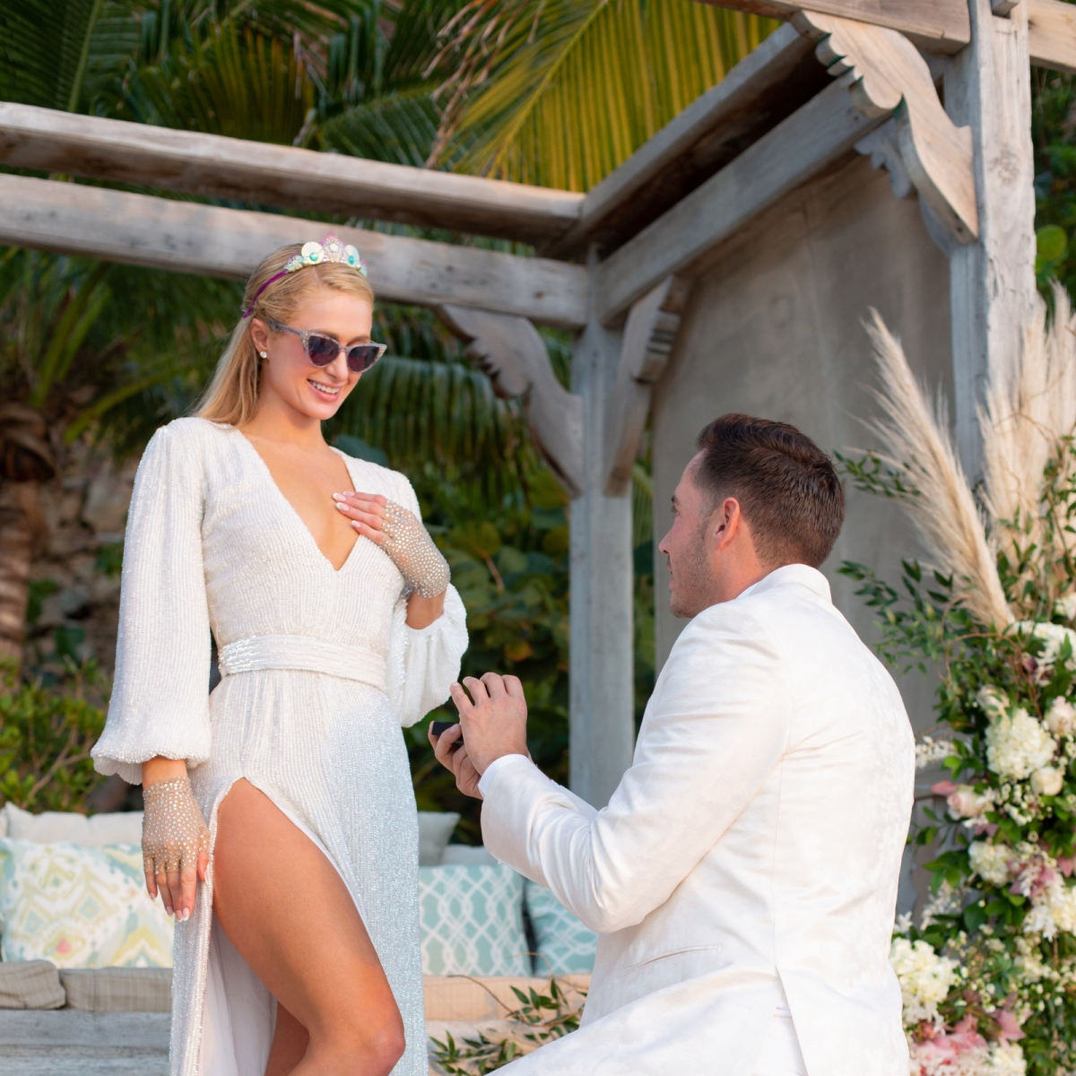 Paris Hilton confirms engagement with boyfriend Carter Reum, shares mushy pics