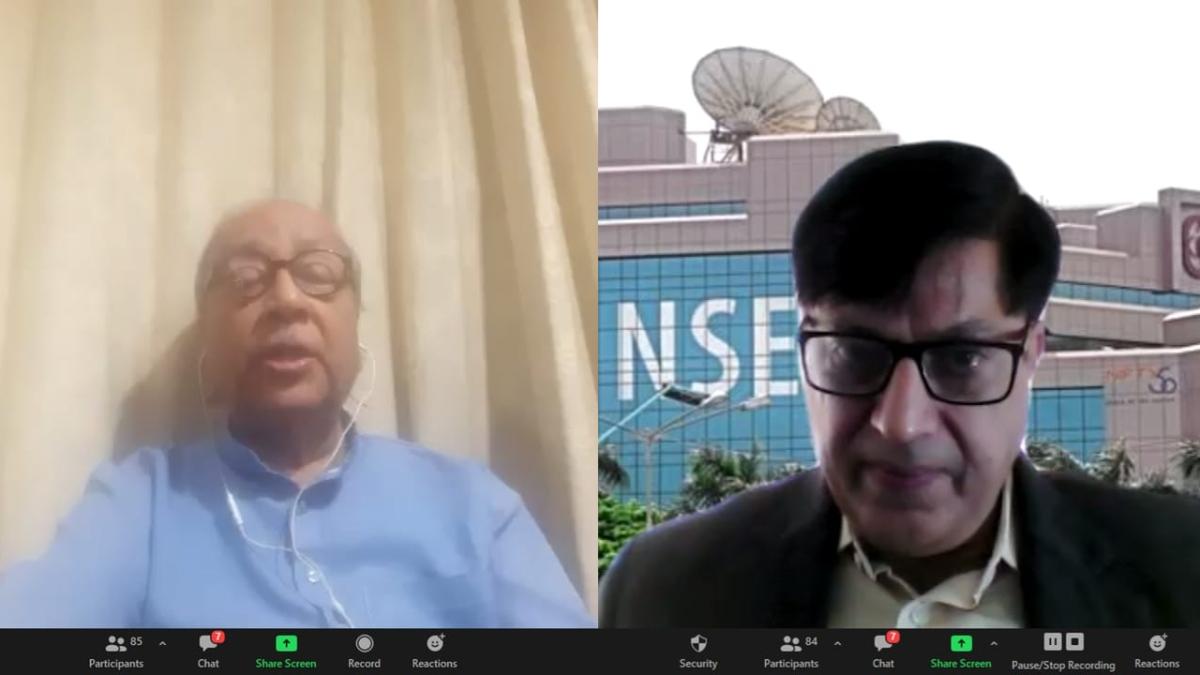 Dr Sen Gupta (L) and Manoj Alimchandani (R)