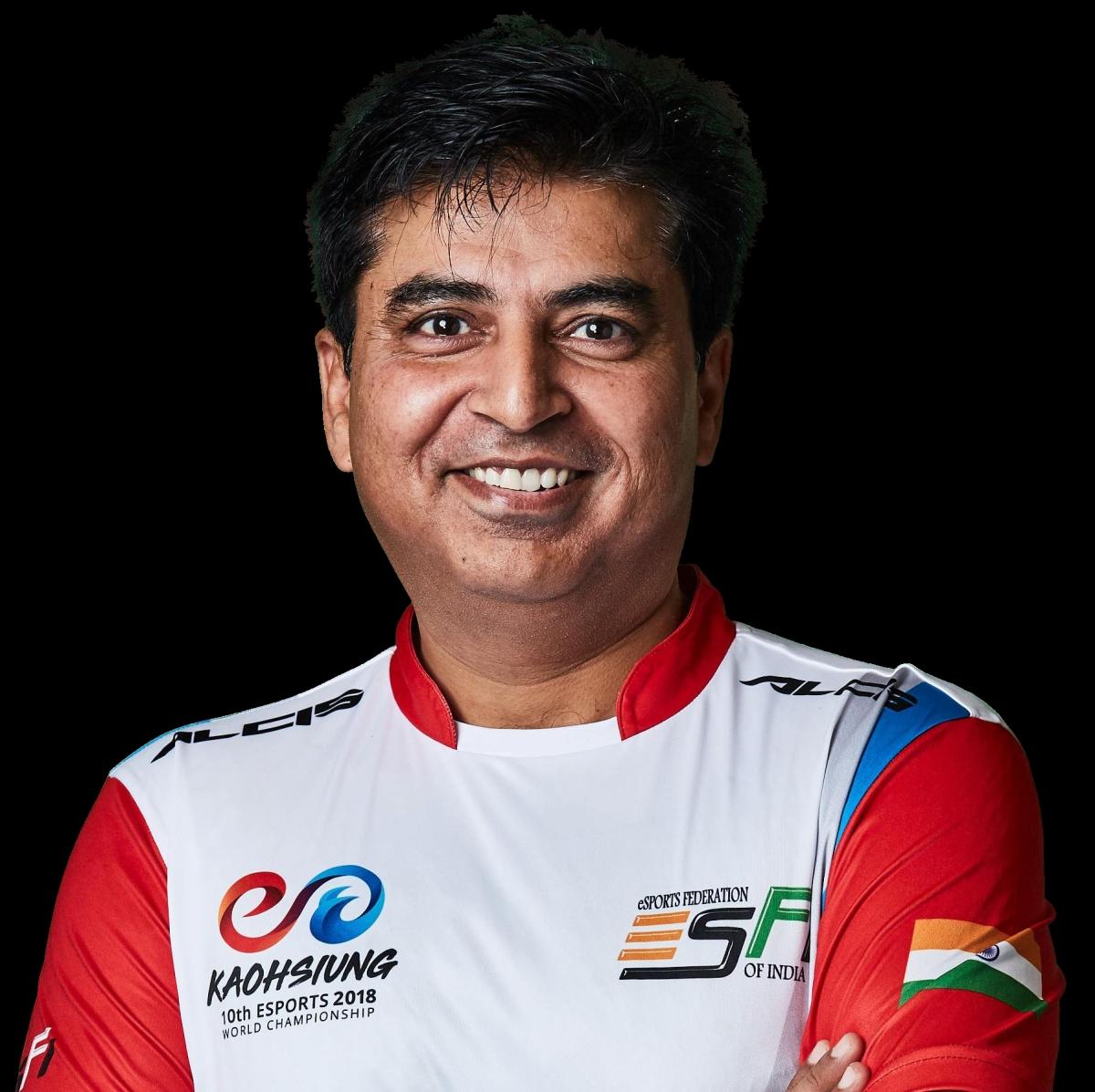 Mr. Lokesh Suji, Director of Esports Federation of India