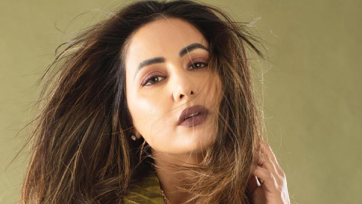 Watch: Hina Khan takes up TikTok's viral Silhouette Challenge, sets internet ablaze