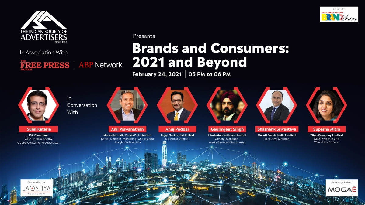 ISA-FPJ webinar - Brands and Consumers: 2021 and Beyond