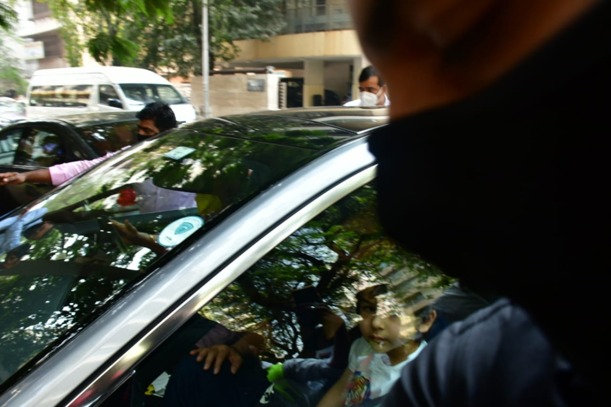 Watch: Kareena, Saif head home with newborn son after getting discharged from hospital