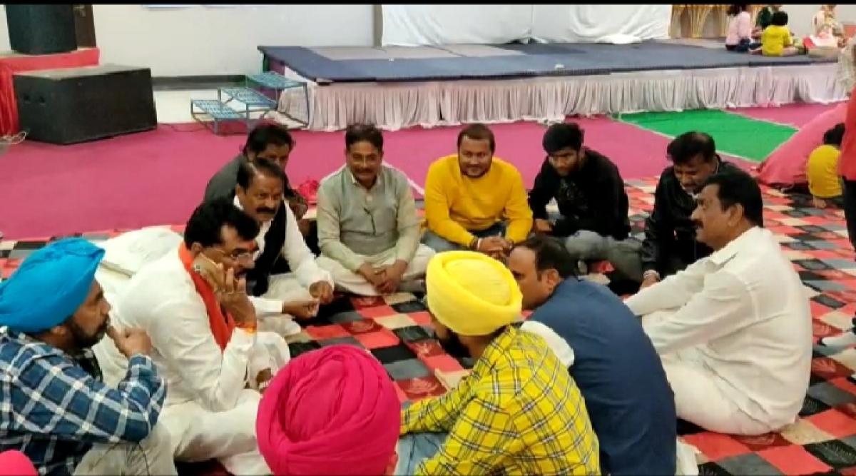 BARWANI: Madhya Pradesh agriculture minister Kamal Patel on Narmada parikrama, says may the river goddess bestow good sense upon Opposition parties