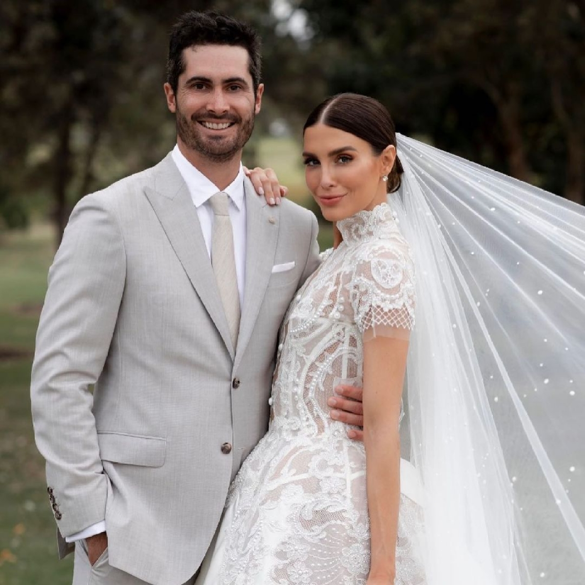 'Official Wifey': Australian cricketer Ben Cutting marries Erin Holland in Byron Bay; see pics